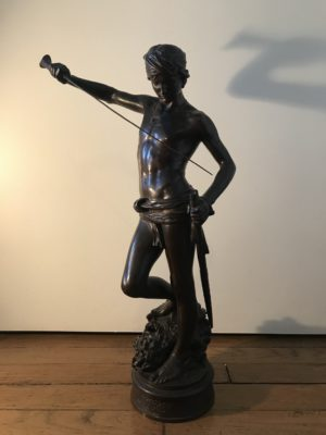 bronze David Antonin Mercié