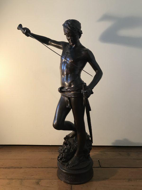 bronze David Antonin Mercié