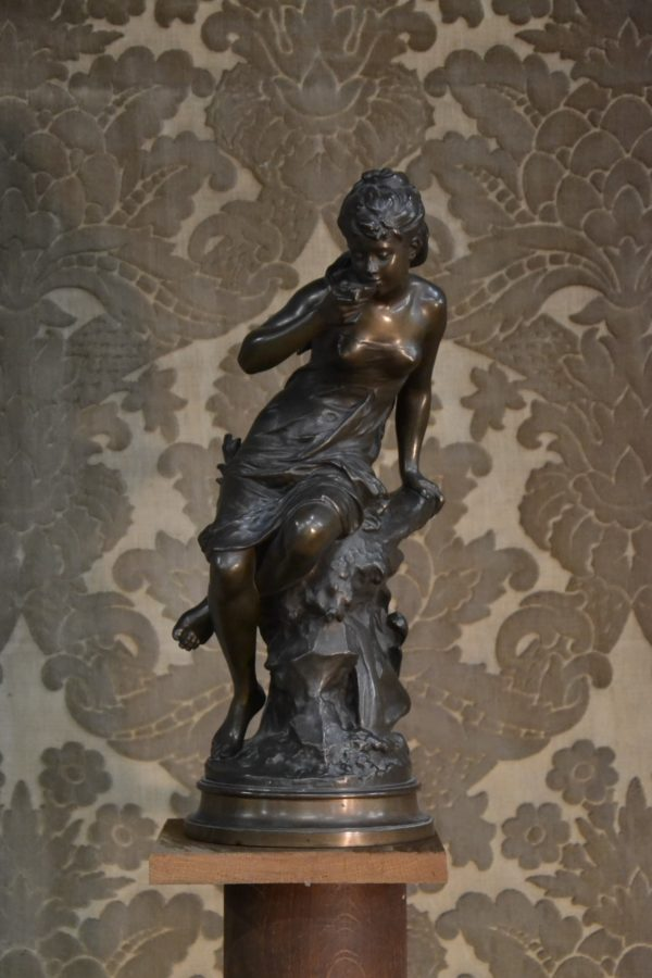 Bronze Mathurin Moreau La Source