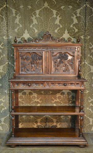 desserte breton mobilier ancien bretagne